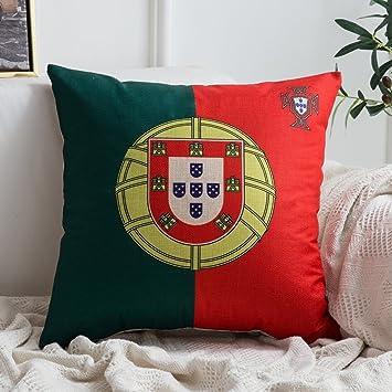 miulee coupe du monde world cup coton et lin housse de coussin en coton canap home