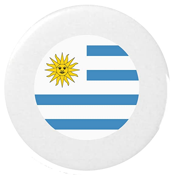 para Uruguay Bandera Insignia Botón Emoji 25mm Botón / Flag for Uruguay Emoji 25mm Button Badge