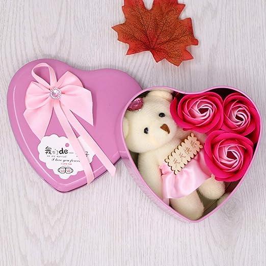 Noah - Caja de jabón con forma de corazón para regalo de San ...