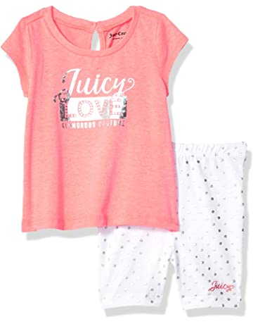 8e0613bd4 Juicy Couture Baby Girls' 2 Pieces Shorts Set