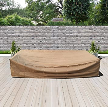 Modenzi All Weather Patio Furniture Cover (119u0026quot; X 60u0026quot; ...