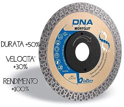 Montolit Ctx115 Disco Diamantato Continuo Gres Porcellanato Granito