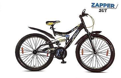 Hero Sprint ZAPPER 26T/24T Single Speed Dual Suspension Bicycle Mountain Bikes at amazon