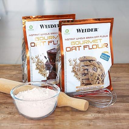 Weider Oat Gourmet. Harina de Avena Integral. Fuente de proteína con bajo contenido en azúcares. Sabor Cookie (1 kg): Amazon.es: Salud y cuidado personal