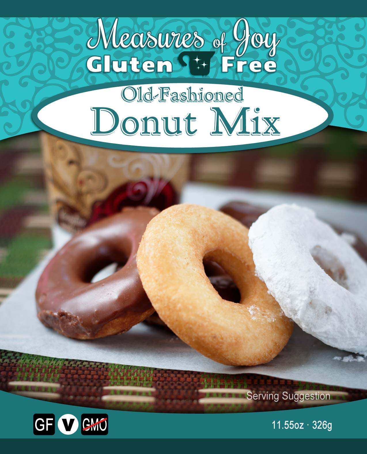 Measures of Joy Gluten Free Old-Fashioned Donut Mix by Measures of Joy