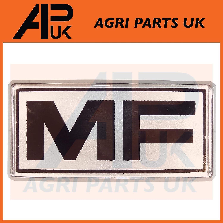 APUK Massey Ferguson 240 265 275 290 675 690 698 699 Tractor Front Grill Badge MF Agri Parts UK Ltd