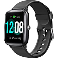Letsfit Smart Watch, Fitness Tracker with Heart Rate Monitor, Activity Tracker with 1.3 Inch Touch Screen, IP68…