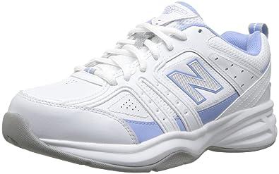 New Balance Womens WX409V2 Training shoeWhitePurple9