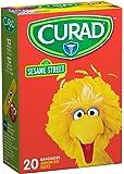 Medline Curad Children's Bandages,Sesame Street,20 Ct