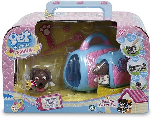 Pet Parade - Transportin Mama con su Cachorro - Perros: Amazon.es: Juguetes y juegos