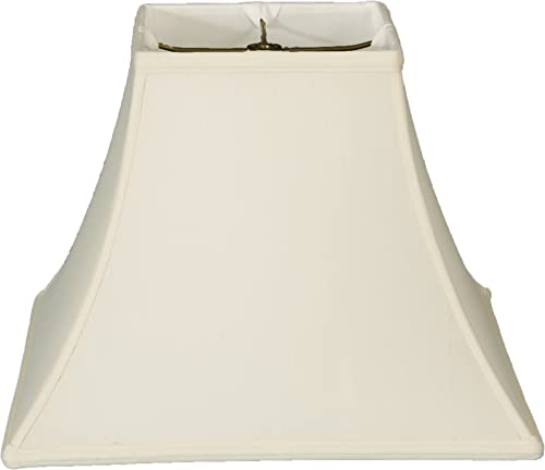 Royal Designs BSO-715-10WH Square Bell Basic Lamp Shade, 5 x 10 x 9 , White