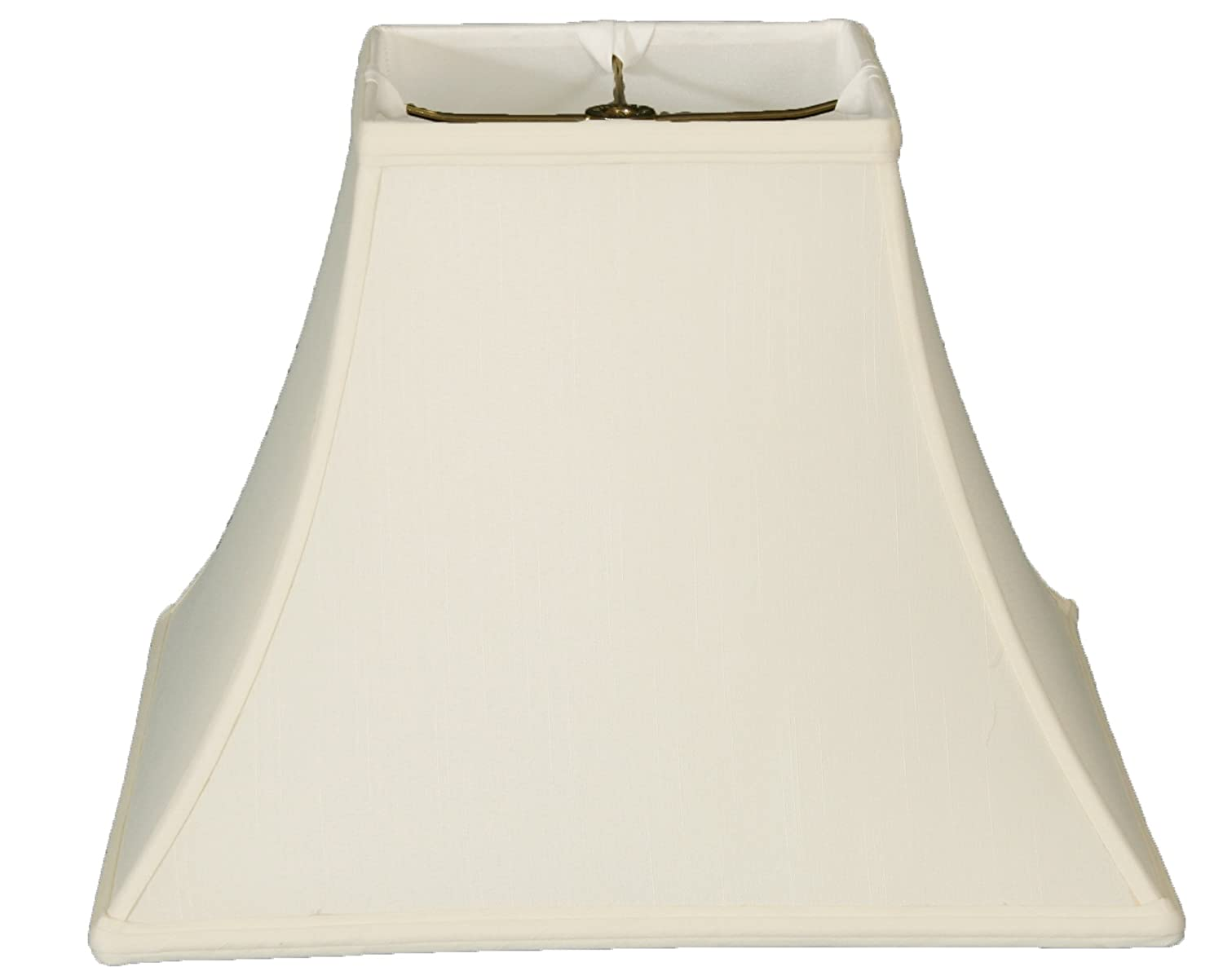 Egghsell Upgradelights Square Bell 6 Inch Clip On Chandelier Lampshade 3x6x6