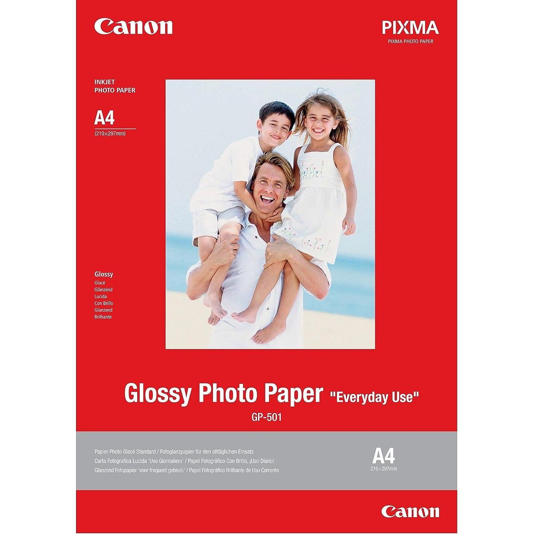Canon GP - 501 – 光沢 – ホワイト – a4 (210 x 297 mm) 20シート(S) 写真用紙 B071VFJBP7