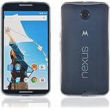 InnoBeta Custodia Bumper Case per Nexus 6 - Cover Ultra Sottile in Gel Morbido TPU Resistente ai Graffi