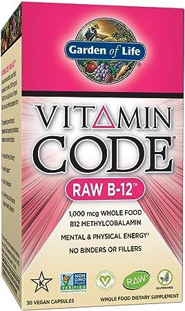 Garden of Life Vitamin Code Raw Vitamin B12