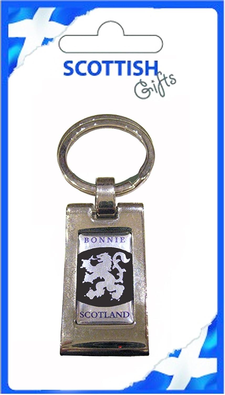 完売 Keyring Bonnie Keyring Scotland Silver Black Lion B007V6BHKI Rampant Pinch Black Design Key Ring Souvenir Gift B007V6BHKI, 生坂村:aa3e0a1f --- yelica.com