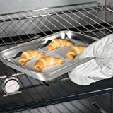 Baking Sheet Pan for Toaster Oven, Umite Chef
