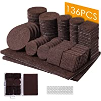 Moaoo 136-Piece Felt Furniture Pads