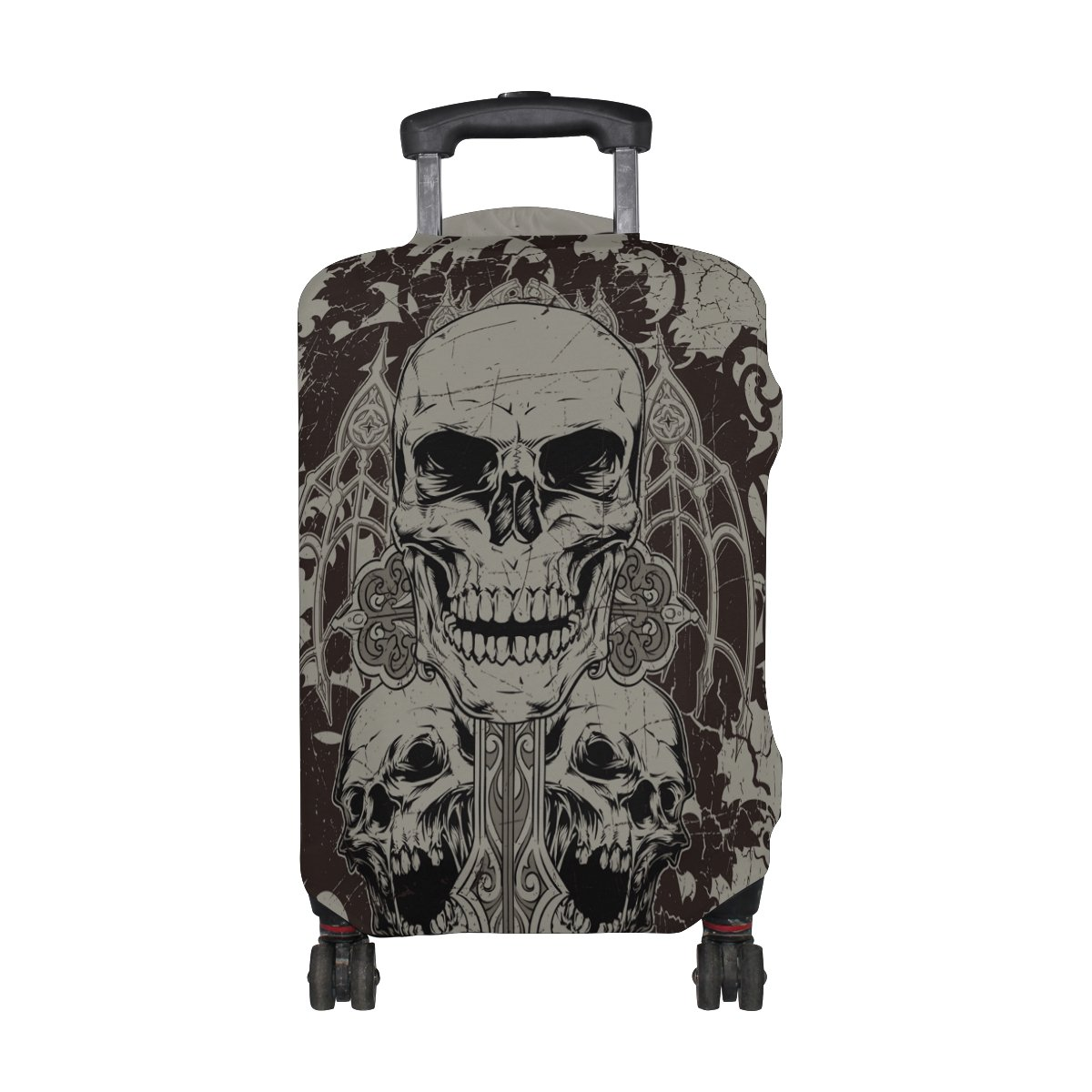 Bigcardesigns 18-30 Luggage Protective Covers Colorful Skull