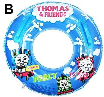 Thomas Train Baby Kids Toddler Swimming Pool Boat Ring Raft Float Tube Seat Aid