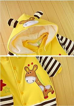 Minetom Oto/ño Invierno Beb/é Ni/ños Ni/ñas Infantil Buzos Equipar Reci/én Nacido Espesar Mameluco Monos Caricatura Trajes