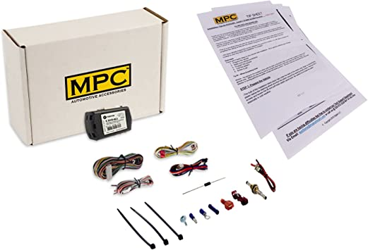 MPC Factory Remote Activated Remote Start Kit for 2011-2019 Kia Optima Firmware Preloaded Push-to-Start