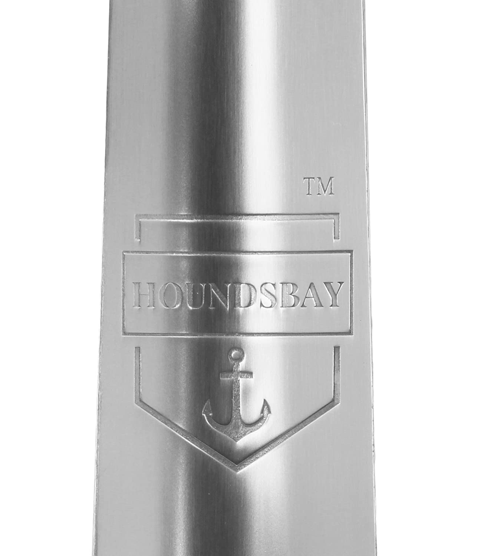 HOUNDSBAY Grand Danois 80cm Extra Longue Acier Inoxydable M/étal Chausse-Pied