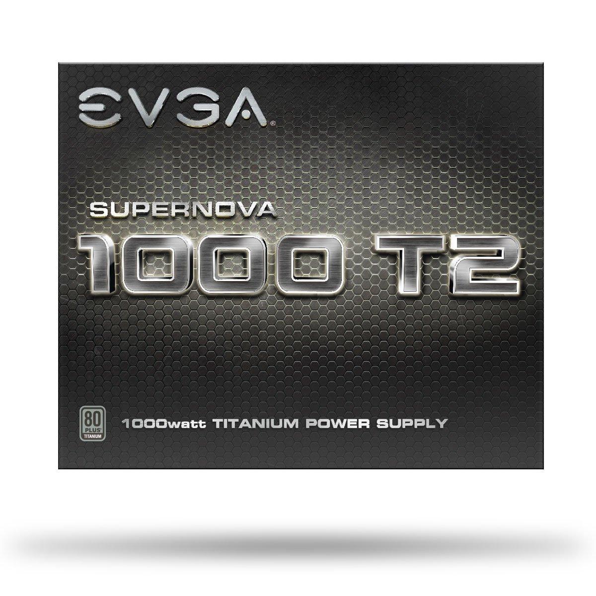 EVGA SuperNOVA 1000 T2, 80+ TITANIUM 1000W, Fully Modular, EVGA ECO Mode, 10 Year Warranty , Includes FREE Power On Self Tester, Power Supply 220-T2-1000-X1 by EVGA (Image #8)