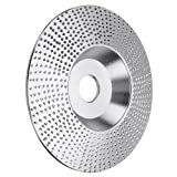 XuSha 4 Inch Tungsten Carbide Grinding Wheel Disc Abrasive Angle Grinder Wheel Wood Carving Grinding Disk