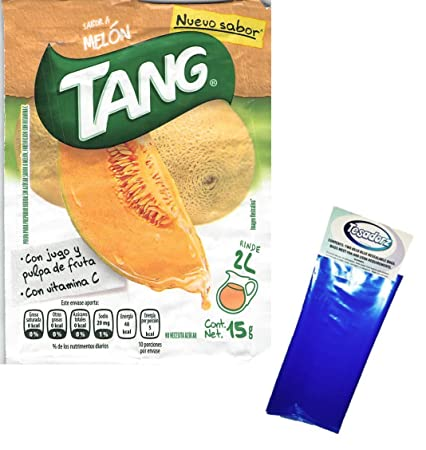 Amazon.com : Tang Melon Flavor Powdered Drink Mix (Pack of 24) with Tesadorz Resealable Bags : Grocery & Gourmet Food