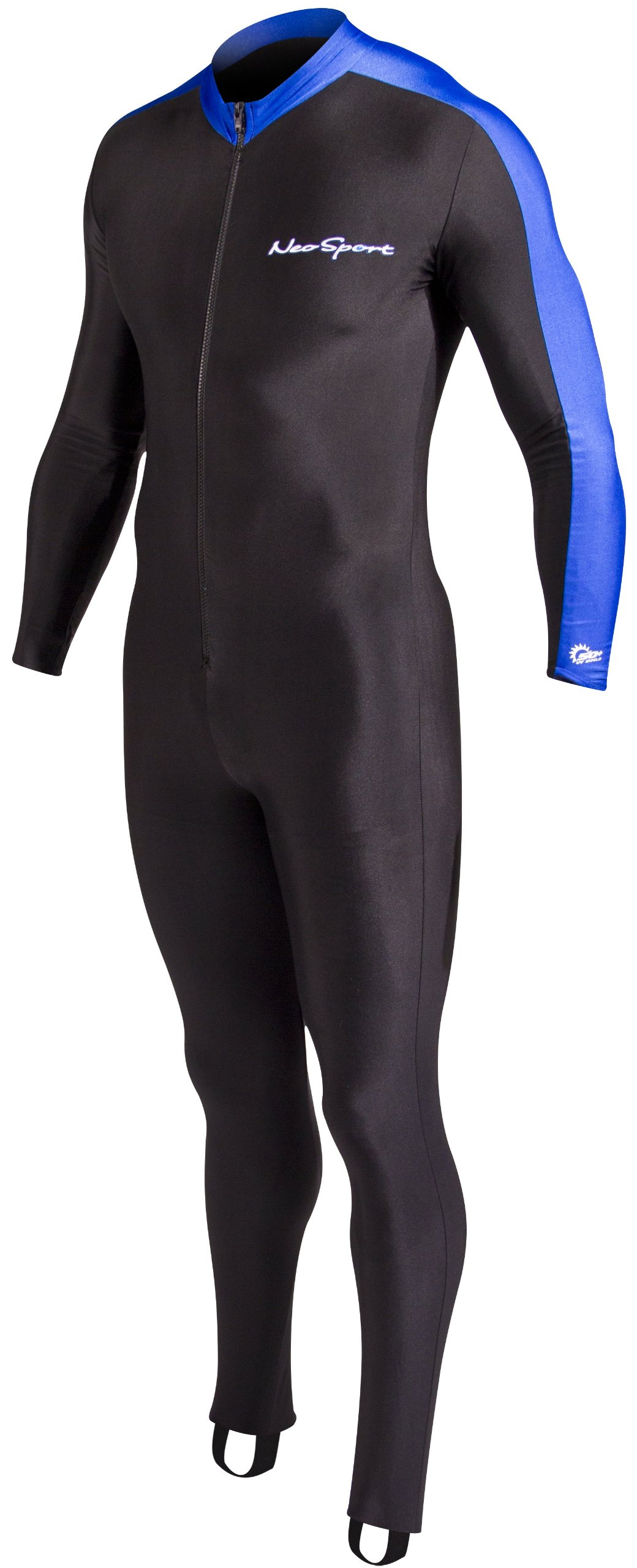 NeoSport Full Body Long Sleeve Lycra Sports Suit for Women and Men - Helps Protect Against UV rays and Skin Irritants - Great for Swimming, Snorkeling, Scuba Diving and All Watersports, by Neo-Sport
