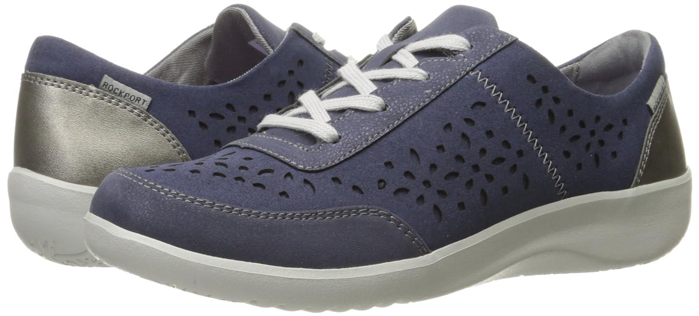 Amazon.com | Rockport Women's Emalyn Tie Fashion Sneaker | Fashion Sneakers