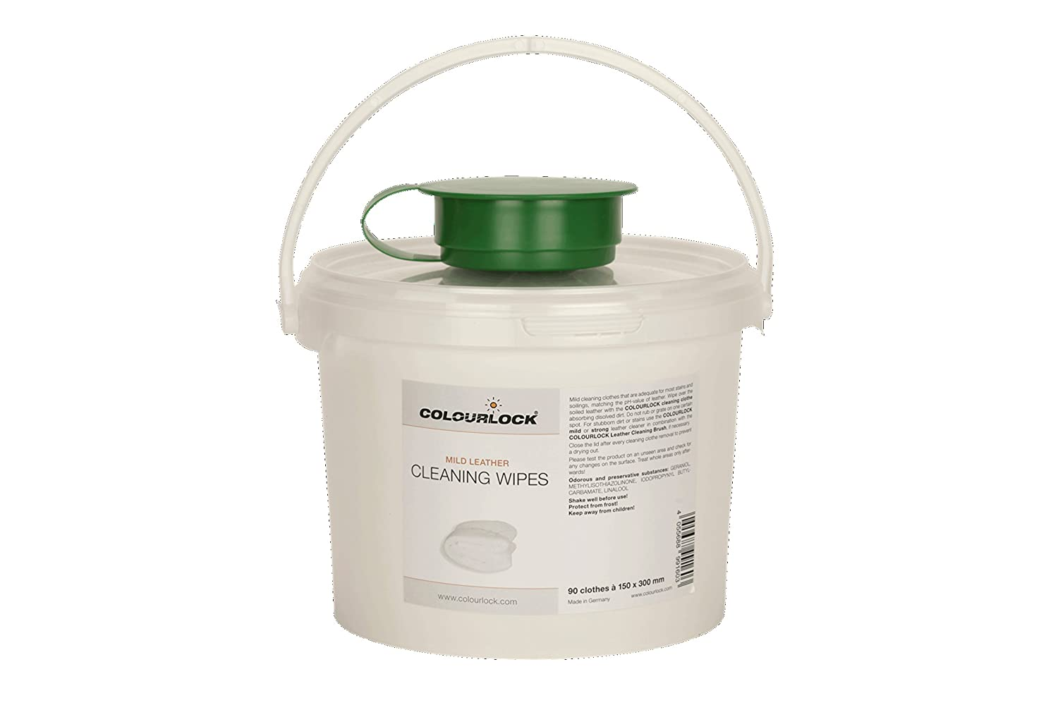 Colourlock Leather Cleaning Wet Wipes for car interiors, Furniture, Sofa, settees, Bags, etc - Pack of 90 Large Wipes Lederzentrum GmbH 4332947096