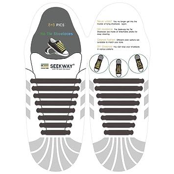 seekway no tie cordones - Convierte cualquier zapatillas en un ...