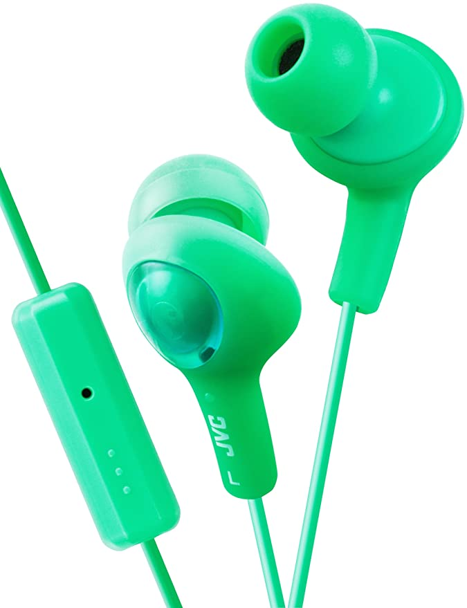 Amazon.com: JVC HAFR6A Gummy Plus audífonos aislantes ...