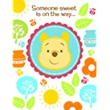 Amazon Com Winnie The Pooh Baby Shower Invitations 8 Invites
