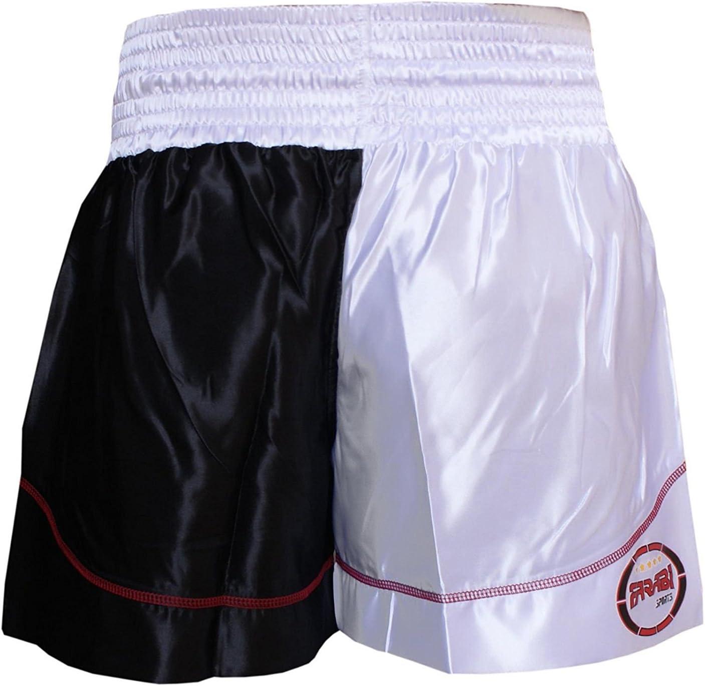 Farabi Muay Thai MMA Kickboxing Cage Fighting Training and Professional Fighting Shorts Trunks