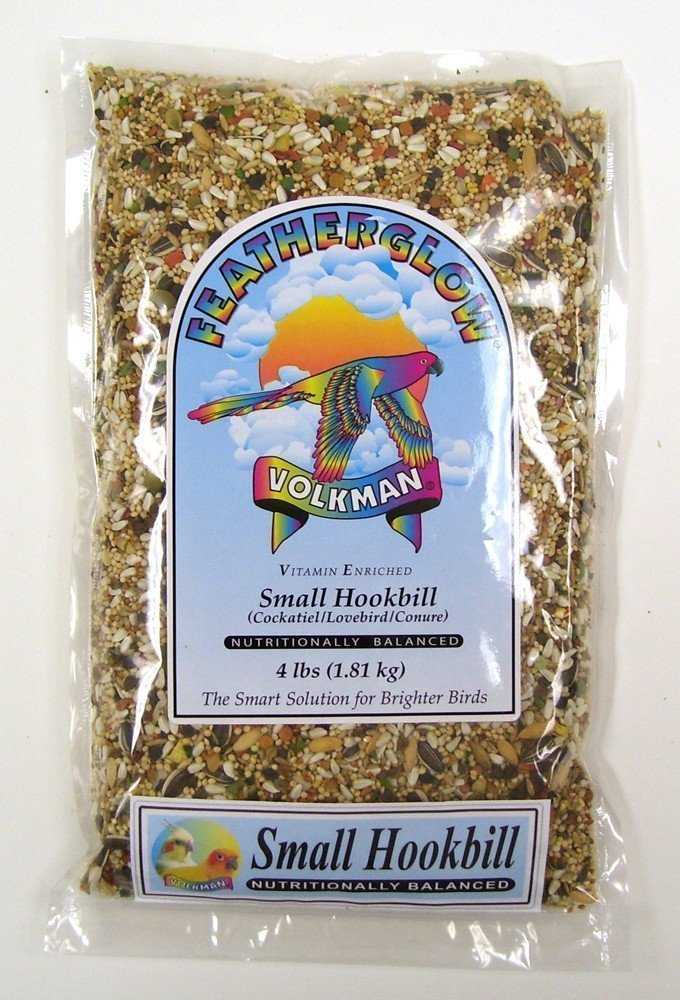Volkman Featherglow Small Hookbill Food 4 Lb