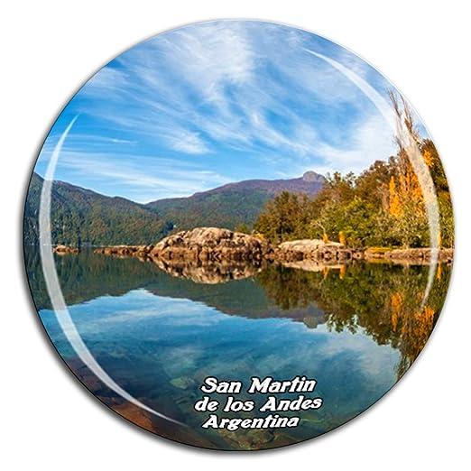 Weekino San Martin de los Andes Argentina Imán de Nevera Cristal ...