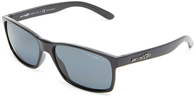 arnette  Amazon.com: Arnette Slickster AN4185-01 Wayfarer Sunglasses,Gloss ...