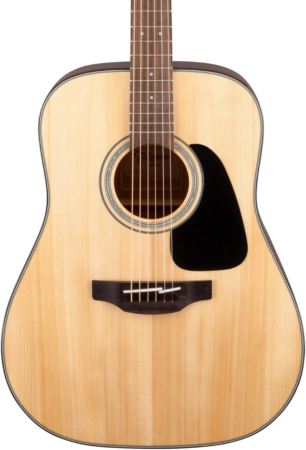 Takamine G Series Dreadnought Solid Top Acoustic Guitar Gloss Natural by Takamine