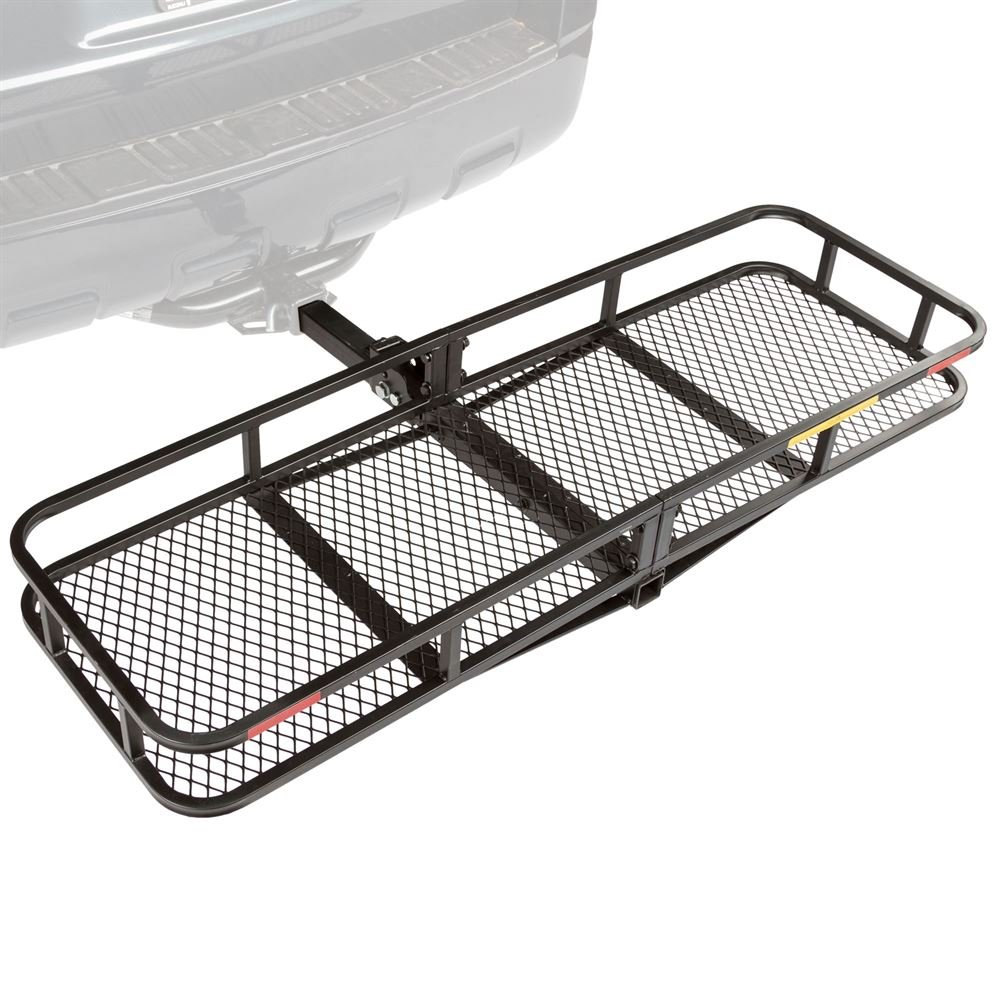 "Apex CCB-F6020-DLX 60/"" Long Steel Basket Folding Hitch Cargo Carrier Rage Powersports"