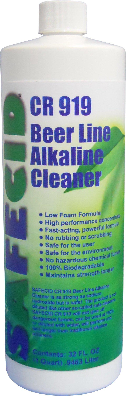 Beer Line Alkaline Cleaner (12 Pack Quarts)