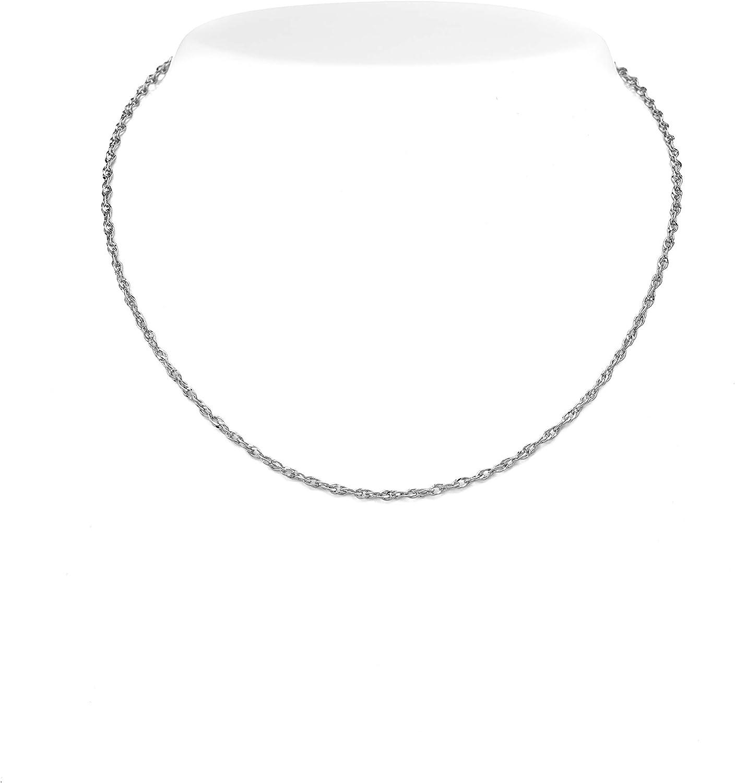 925 Sterling Silver 2.4mm Corona Chain