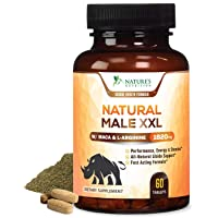 Natural Male XXL Pills Aids Natural Stamina, Strength & Mood - Extra Strength Enlargement...