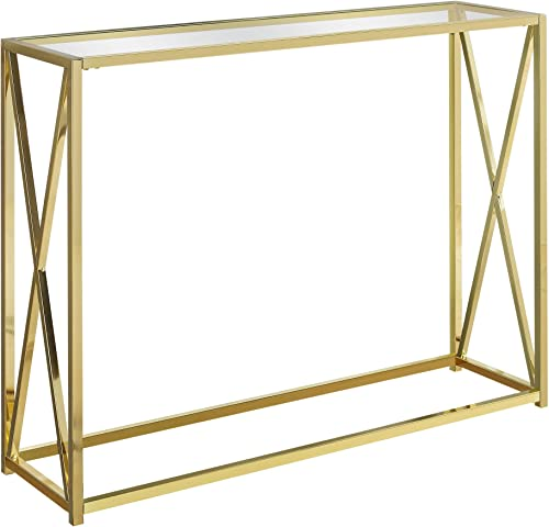 Monarch Specialties I Accent, Console Table, GOLD