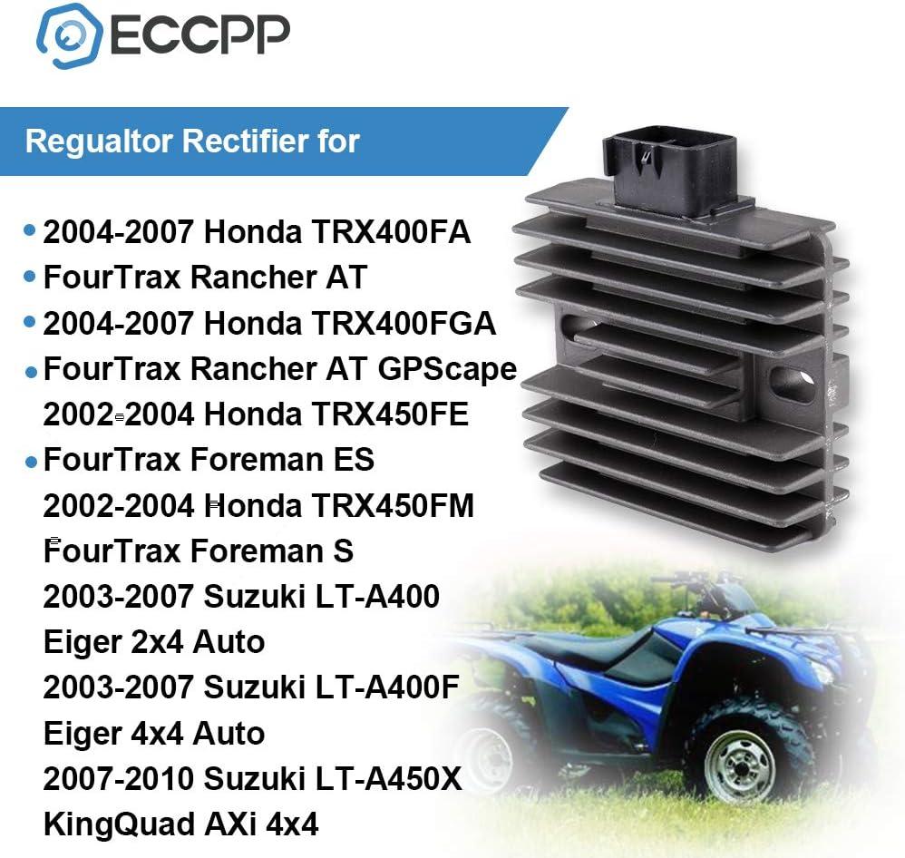 ECCPP regulador de voltaje rectificador para 2002-2004 ...
