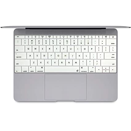 430347d34b3 Masino Silicone Keyboard Cover Ultra Thin Protective Skin for New MacBook  Pro 13 13.3 quot  Without