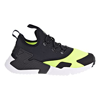 3fa493bf414c NIKE Huarache Drift Little Kids Shoes Volt Black-White aa3503-700 (2