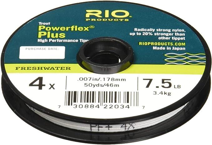 Rio Fly Fishing Tippet Salmon//Steelhead Tippet 30yd 10Lb Fishing Tackle Glacial Green